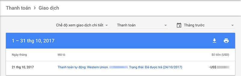 PI Western Union Google Adsense