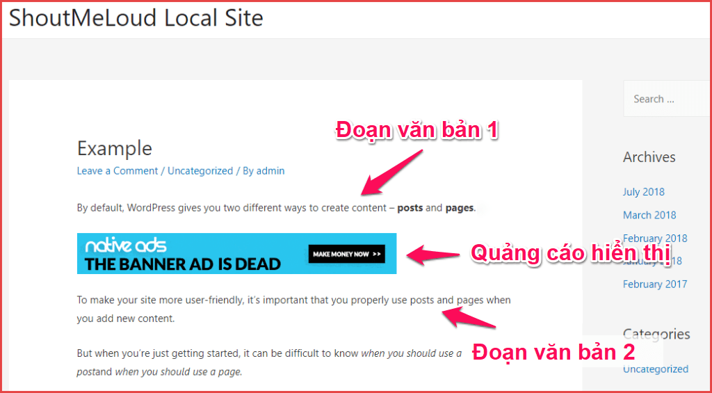 Chèn code Google Adsense vào WordPress bằng Plugin Ad Inserter