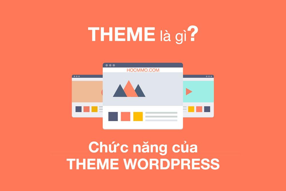 Theme là gì? Chức năng của theme WordPress