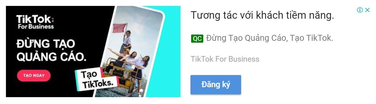 Quảng cáo hiển thị hình ảnh thích ứng GDN Google Ads